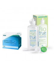 Pure Vision 2 HD + Biotrue 300 ml 