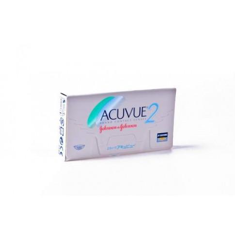 Acuvue 2 6 szt. - elastyczne w użyciu i wygodne