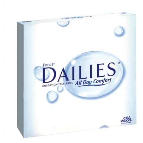 Focus Dailies 90 szt. - jednodniowe soczewki