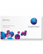 WYPRZEDAŻ: Biofinity 6 szt., moc: +0,50