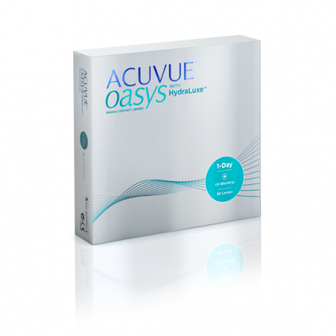 ACUVUE OASYS 1-Day with HydraLuxe 90 szt. + CashBack 30 PLN
