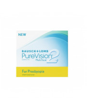 PureVision 2 HD for Presbyopia 6 szt. + płyn 60 ml GRATIS!