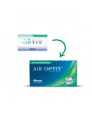 AIR OPTIX®  for  ASTIGMATISM 3 szt.
