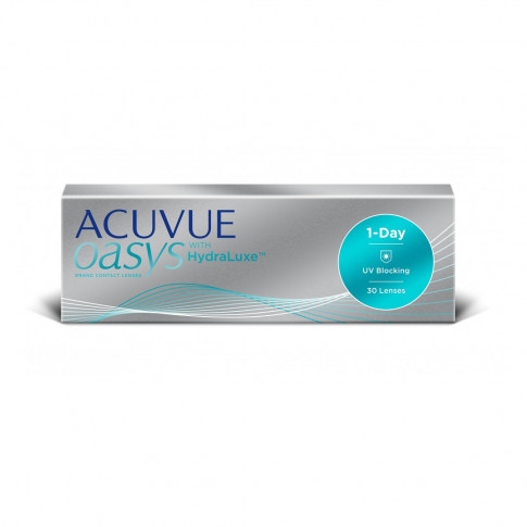 ACUVUE OASYS 1-Day with HydraLuxe - kup 3 op. karta 40 PLN do Reserved GRATIS!