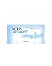 SUPER WYPRZEDAŻ: Acuvue Advance 6 szt., moc: +1,50, BC: 8,70