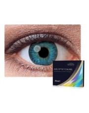 WYPRZEDAŻ: AIR OPTIX®  COLORS 2 szt., moc: -4,50 BLUE
