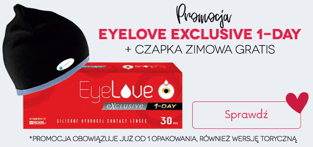 banner promocja z EyeLove Exclusive 1-Day