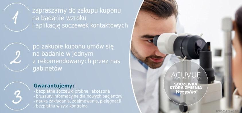 efd8692a148d Dokonaj zakupu kuponu na badanie wzroku i dopasowanie soczewek  kontaktowych